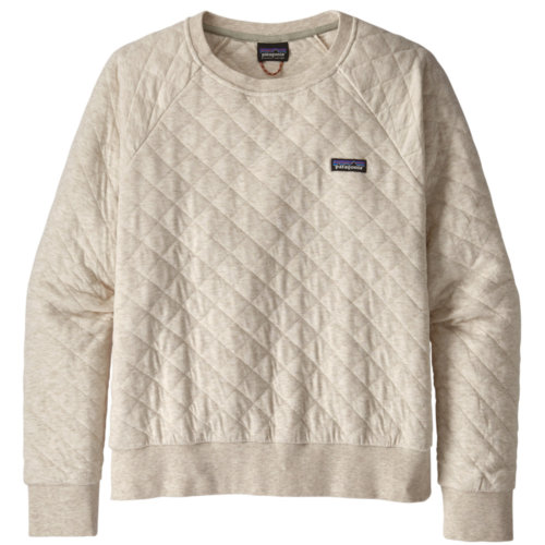 Mouse over to zoom an area or click here for Hi-Res image of Patagonia Organic Cotton Quilt Crewneck Sweatshirt Women's