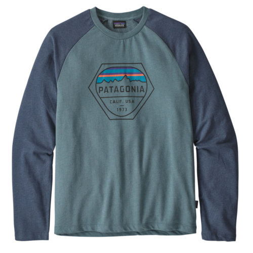 Patagonia Fitz Roy Hex Lightweight Crew Sweatshirt Mens Closeout