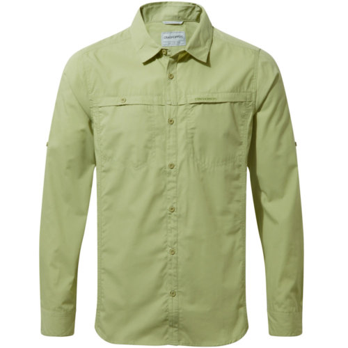 CragHoppers Kiwi Trek Long Sleeve Shirt Men's Closeout