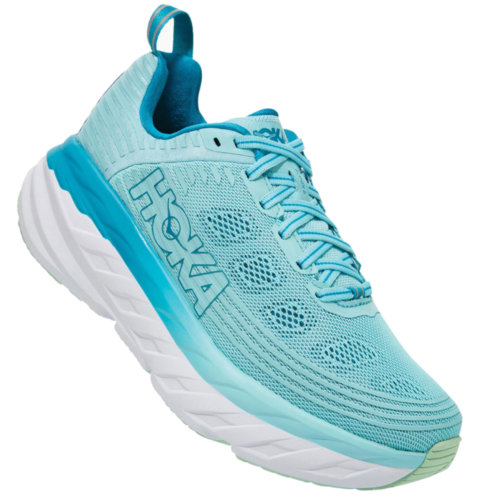 Mouse over to zoom an area or click here for Hi-Res image of Hoka One One Bondi 6 Running Shoes Women's