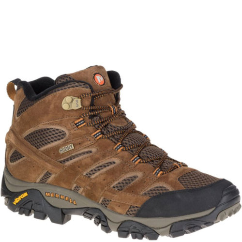 Mouse over to zoom an area or click here for Hi-Res image of Merrell Moab 2 Mid Waterproof Boots Men's