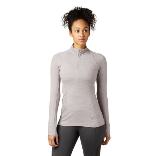 Mouse over to zoom an area or click here for Hi-Res image of Mountain Hardwear Ghee Long Sleeve 1/4 Zip Women's