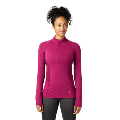 Mouse over to zoom an area or click here for Hi-Res image of Mountain Hardwear Ghee Long Sleeve 1/4 Zip Women's Closeout