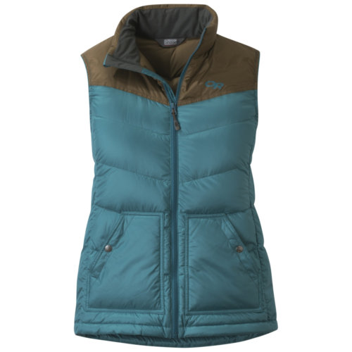 Mouse over to zoom an area or click here for Hi-Res image of Outdoor Research Transcendent Down Vest Women's Closeout