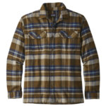 Patagonia Fjord Flannel Shirt Long  Sleeve Mens Closeout
