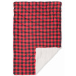 Rumpl Puffy Sherpa Throw Blanket