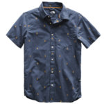 The North Face Baytrail Jacquard Short Sleeve Shirt Mens Closeout