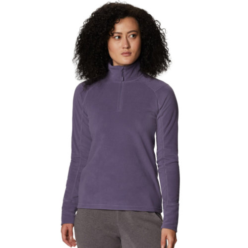 Mouse over to zoom an area or click here for Hi-Res image of Mountain Hardwear Microchill Lite 2.0 Zip Tee Women's