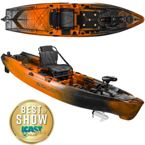 Mouse over to zoom an area or click here for Hi-Res image of Old Town Sportsman AutoPilot 120 Kayak