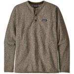 Patagonia Better Sweater Fleece Henley Pullover Men's Closeout