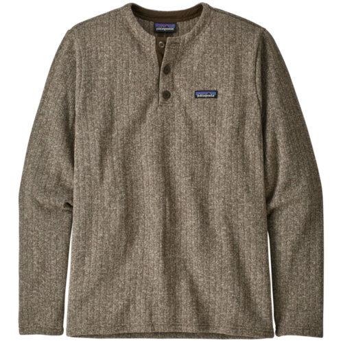 Mouse over to zoom an area or click here for Hi-Res image of Patagonia Better Sweater Fleece Henley Pullover Men's Closeout