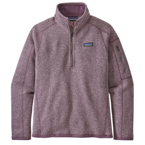 Mouse over to zoom an area or click here for Hi-Res image of Patagonia Better Sweater 1/4-Zip Womens