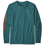 Patagonia Text Logo Responsibili-Tee Long Sleeve Men's
