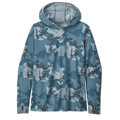 Mouse over to zoom an area or click here for Hi-Res image of Patagonia Tropic Comfort Hoody II Mens