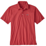 Patagonia Trout Fitz Roy Polo Shirt Mens
