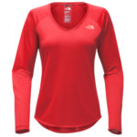 The North Face Reaxion Amp Tee Long Sleeve Tee Womens Closeout
