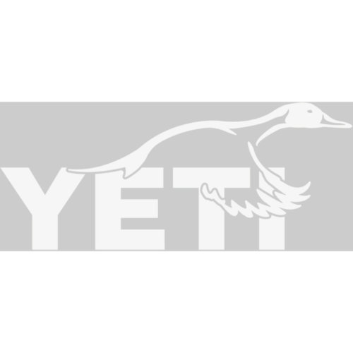 Mouse over to zoom an area or click here for Hi-Res image of Yeti Window Decal (Sticker) - Sportsman