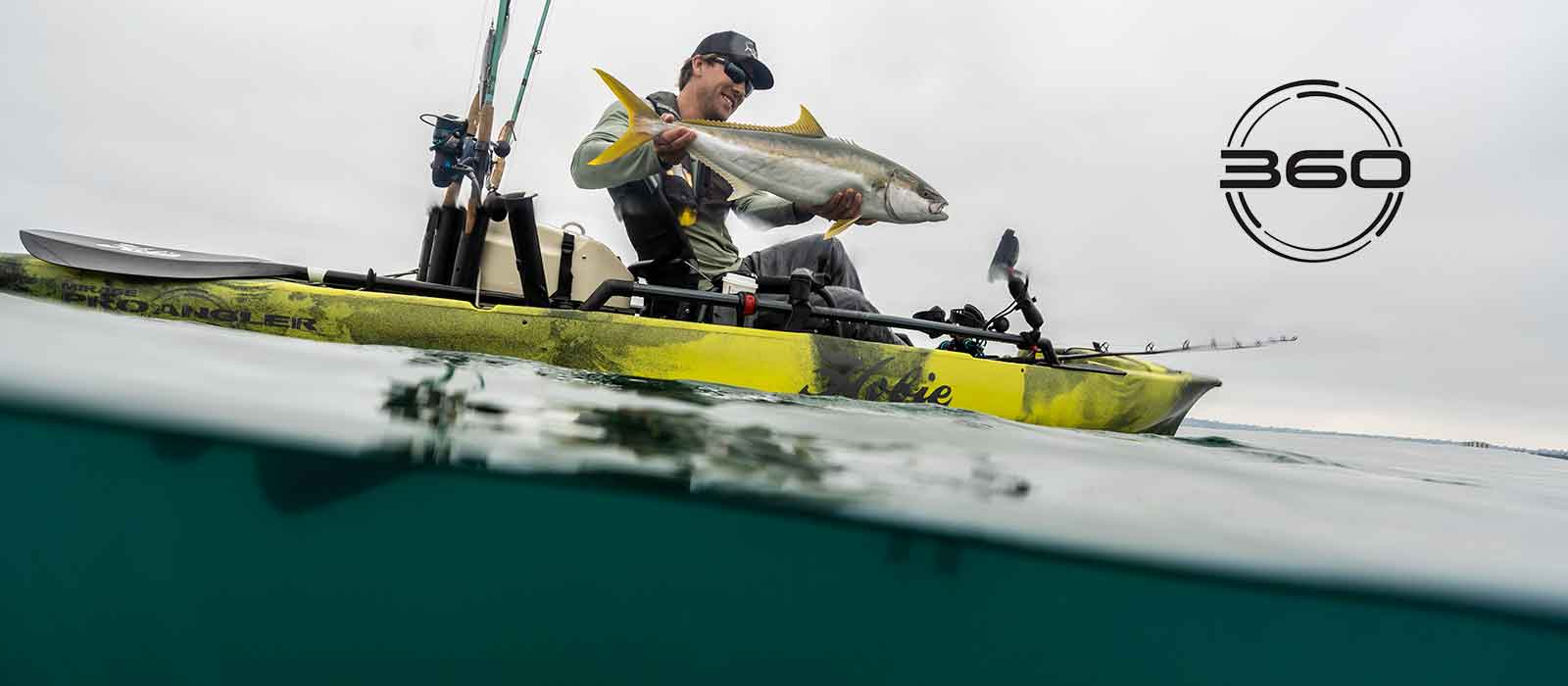 Click to see the Hobie Pro Angler 360 kayaks