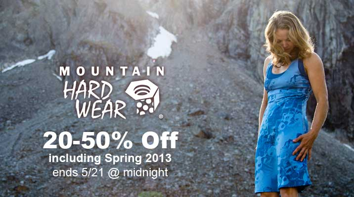 20-50% Off Mountain Hardwear
