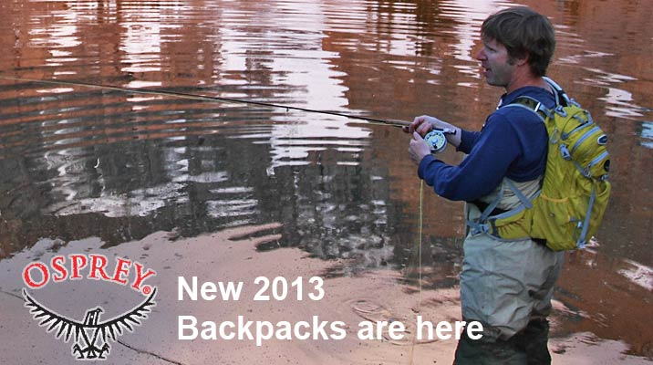 New Osprey Backpacks