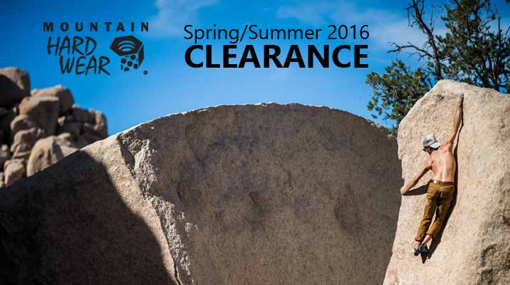 Mountain Hardwear Clearance